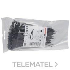 COLLARIN NEGRO 3,5x140mm con referencia 031803 de la marca LEGRAND.