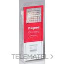 COLLARIN+PLACA SEÑALIZACION P6/6 INCOLORA DIAMETRO 4 18mm con referencia 032061 de la marca LEGRAND.
