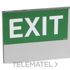 Etiqueta señalización EXIT con referencia 661803 de la marca LEGRAND.