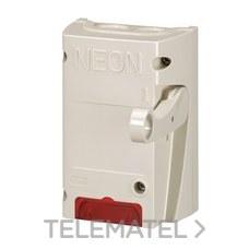 Interruptor seguridad rótulos 16A bipolar con referencia 038050 de la marca LEGRAND.