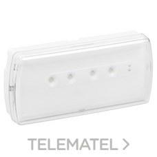 LEGRAND 661603 Luminaria de emergencia URA21LED 100lm 1 hora IP42 permanente / no permanente