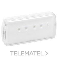 LEGRAND 661606 Luminaria de emergencia URA21LED 200lm 1 hora IP42 permanente / no permanente