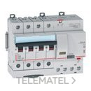 MAGNETOTERMICO DIFERENCIAL DX3 4 POLOS 30mA C10 con referencia 411185 de la marca LEGRAND.