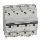 MAGNETOTERMICO DX3 10/16KA-C 4 POLOS 80A con referencia 409362 de la marca LEGRAND.
