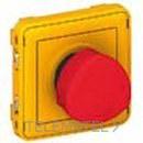 PULSADOR EMERGENCIA 1/4 E/S PLEXO con referencia 069549 de la marca LEGRAND.