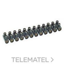 REGLETA NYLBLOC 10mm2 NEGRA con referencia 034272 de la marca LEGRAND.