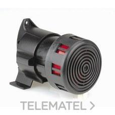 Sirena electromagnética IP30-IK10 12V acústico 98dB con referencia 041532 de la marca LEGRAND.