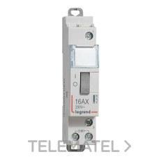 TELERRUPTOR 16A CONTACTO ABIERTO BOBINA 230V con referencia 412408 de la marca LEGRAND.