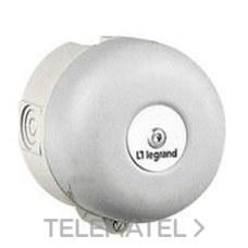 TIMBRE CL-II ANTICORROSION 220/250V DIAMETRO 100mm con referencia 041349 de la marca LEGRAND.