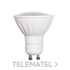 Lámpara GU10 led 5W 230V 120º 50K con referencia 62/021 de la marca LIGHTED.
