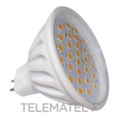 LAMPARA MR16 LED 6W 12V120º 30K con referencia 62/026 de la marca LIGHTED.