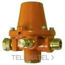 REGULADOR 800mbar 20Kg/h T20/150x MACHO 20/150 con referencia 32555 de la marca LLOBERA.