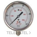 "VENTOMETRO WIKA 100mbar DIAMETRO 100 ROSCA 1/2"" con referencia 94333 de la marca LLOBERA."