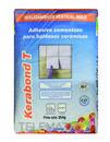 Adhesivo cementoso KERABOND T para baldosas cerámicas, color gris (25Kg). con referencia 002225 de la marca MAPEI.
