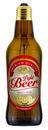 Lámpara con forma de botella LightBeer 8W 1800K E27 marrón y con etiqueta con referencia 53433+53440 de la marca MEGAMAN.