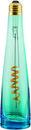Lámpara con forma de botella LightWater 8W 2800K E27 azul con referencia 53839 de la marca MEGAMAN.