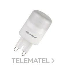 Lámpara led BIPIN 3W G9 230V 2800K dimable con referencia 34630 de la marca MEGAMAN.