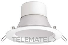 Led downlight SIENA 20,5W 2800K blanco con referencia 38379 de la marca MEGAMAN.