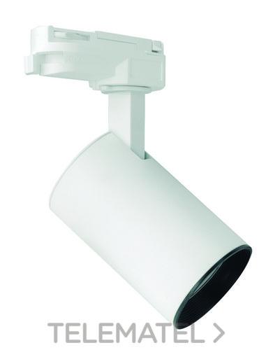 Luminaria carril LED MARCO MIDI 24W 2800K 25/45º negro con referencia 58155 de la marca MEGAMAN.
