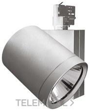 Luminaria carril MODENA MHX 24W 3000K DIM gris con referencia 33992 de la marca MEGAMAN.