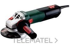 Amoladora angular mini WEVA 15-125 QUICK con referencia 600496000 de la marca METABO.