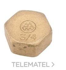 "METALGRUPSA 362002 TAPON HEMBRA LATON 1/2"""
