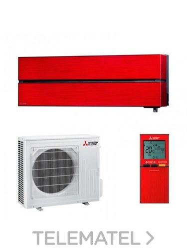 Conjunto MSZ-LN50VG + MUZ-LN50VG split Kirigamine Style pared rojo con referencia MSZ-LN50VGR de la marca MITSUBISHI ELECTRIC.