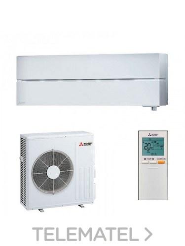 Conjunto MSZ-LN60VG + MUZ-LN60VG split Kirigamine Style pared blanco con referencia MSZ-LN60VGW de la marca MITSUBISHI ELECTRIC.