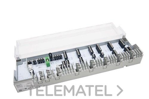 Central de conexión de suelo radiante-refrescante de 6 zonas, 12 actuadores 230V con referencia 422.3222 de la marca MULTITUBO.