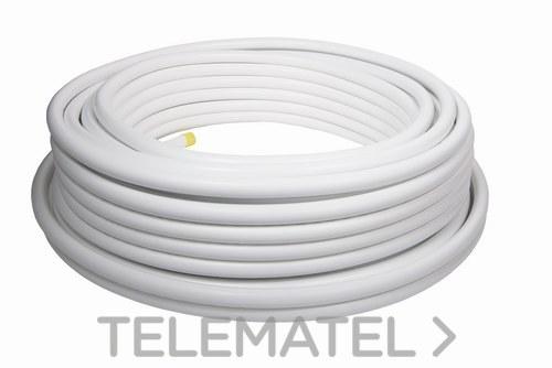 Tubo multicapa de color blanco 16x2 (En rollo de 500m) con referencia 101.16500 de la marca MULTITUBO.