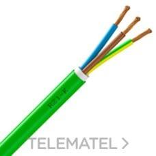 Cable ALSECURE RZ1-K (AS) 3G2,5mm² (Rollo 100m) con referencia 10082378 de la marca NEXANS.