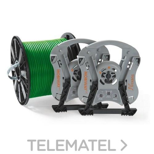 Kit MOBIWAY TM patentado de bobinas de plástico y su sistema de desenrollado con referencia 10273894 de la marca NEXANS.