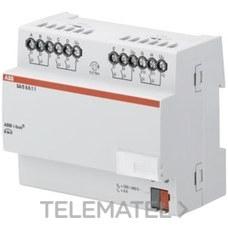 NIESSEN SA/S 8.6.1.1 Actuador interruptor con 8 canales 6A DIN