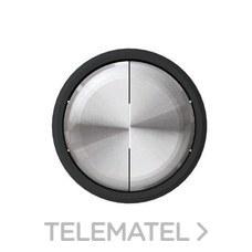 NIESSEN 8611 CN Tecla doble interruptor conmutador Skymoon cristal negro
