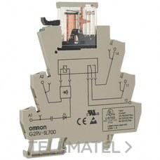 OMRON 225258 RELE BORNA+BASE TORNILLOS 24VDC 1C 6A