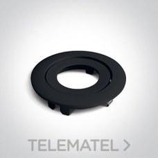 Aro decorativo para downlight 11106PF aluminio negro con referencia 050044/B de la marca ONE LIGHT.