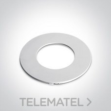 Aro embellecedor para downlight 11112H blanco mate con referencia 050086A/W de la marca ONE LIGHT.