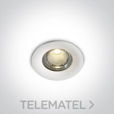 Downlight COB LED 10W WW IP65 60° 230V aluminio blanco con referencia 10110G/W/W de la marca ONE LIGHT.