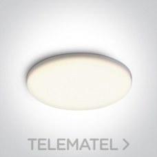 Downlight SMD LED 30W CW IP65 230V frameless aluminio + policarbonato blanco con referencia 10130CF/C de la marca ONE LIGHT.