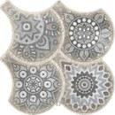 Baldosa en gres porcelánico de la colección GRANADA DECO GREY formato 32,5x32,5cm con referencia PT14296 de la marca OSET.