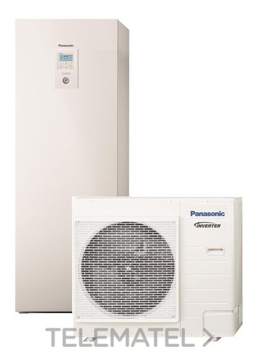 Conjunto Aquarea All in One ADC07HE5B-CL monofásica 2 zonas con referencia KIT-ADC07HE5B-CL de la marca PANASONIC.