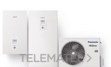 Conjunto WH-ADC0309J3E5 + WH-UD03JE5 Aquarea All in One frío/calor generación J (R32) con referencia KIT-ADC03JE5 de la marca PANASONIC.