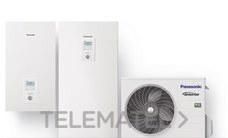 Conjunto WH-ADC0309J3E5 + WH-UD05JE5 Aquarea All in One frío/calor generación J (R32) con referencia KIT-ADC05JE5 de la marca PANASONIC.