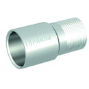 Manguito acoplamiento de acero para la conexión de tubos RL, M20 acabado electrocincado EZ. con referencia 55007020 de la marca PEMSA.