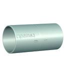 Manguito enchufable para la conexión de tubos RL, MDN40 acabado electrocincado EZ. con referencia 55006040 de la marca PEMSA.