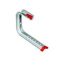 Soporte Omega Techo SPLUS para bandejas Rejiband® y Pemsaband®, de 400mm de ancho, en acero, acabado sendzimir PG. con referencia 62022404 de la marca PEMSA.