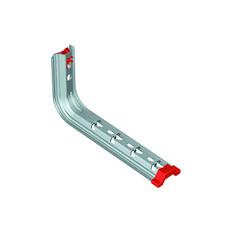 Soporte Omega Universal SPLUS para bandejas Rejiband® y Pemsaband® montaje pared/techo, de 150mm de ancho, en acero, acabado sendzimir PG. con referencia 62021154 de la marca PEMSA.