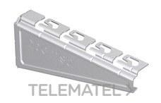 Soporte reforzado RPLUS para bandejas Rejiband®, Pemsaband® y Megaband® de 100 mm de ancho, en acero, acabado sendzimir PG. con referencia 62025103 de la marca PEMSA.
