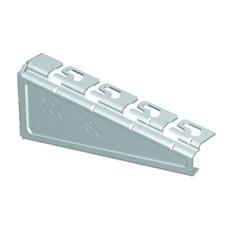 Soporte reforzado RPLUS para bandejas Rejiband®, Pemsaband® y Megaband® de 400mm de ancho, acabado sendzimir PG. con referencia 62025403 de la marca PEMSA.