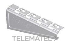 Soporte reforzado RPLUS para bandejas Rejiband®, Pemsaband® y Megaband® de 600 mm de ancho, en acero, acabado sendzimir PG. con referencia 62025603 de la marca PEMSA.
